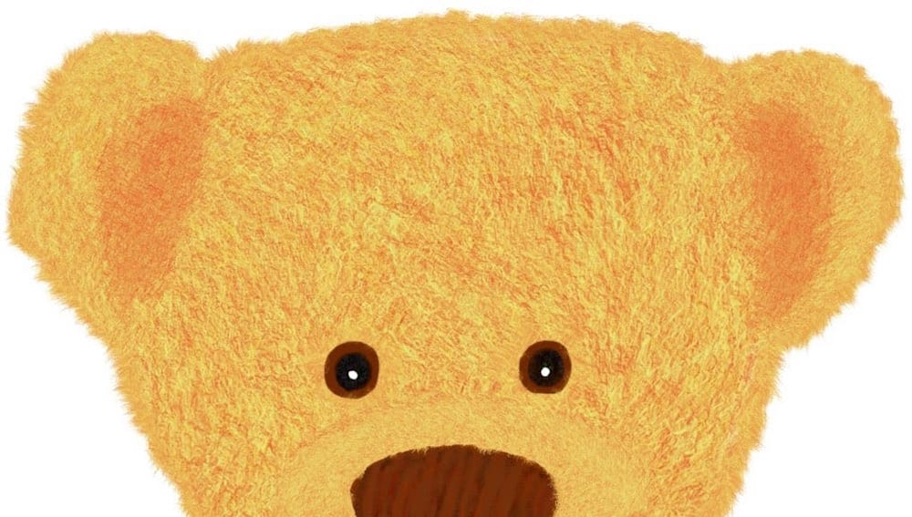 Dies ist Kalle der kleine Bär.